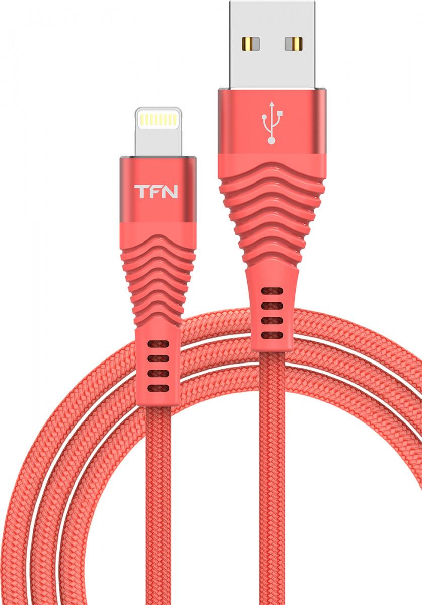 Кабель 8pin 2.4A TFN forza MFI цвет красный 1 метр #1
