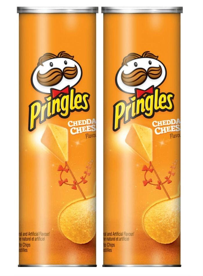 Чипсы Pringles Cheddar Cheese 158 гр. (2 шт.) #1