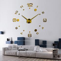 """Настенные часы MIRRON """"3D"""", 100 см. Настенные 3D часы"""