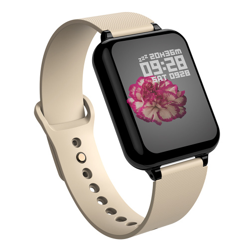 Купить смарт-часы B57, золотой ремешок по низкой цене: отзывы, фото, характеристики в интернет-магазине Ozon