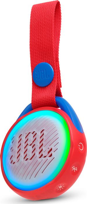 Портативная акустическая система JBL Jr Pop Red