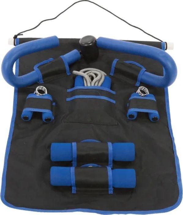 Набор для фитнеса Iron People IR97626, черный, в чехле