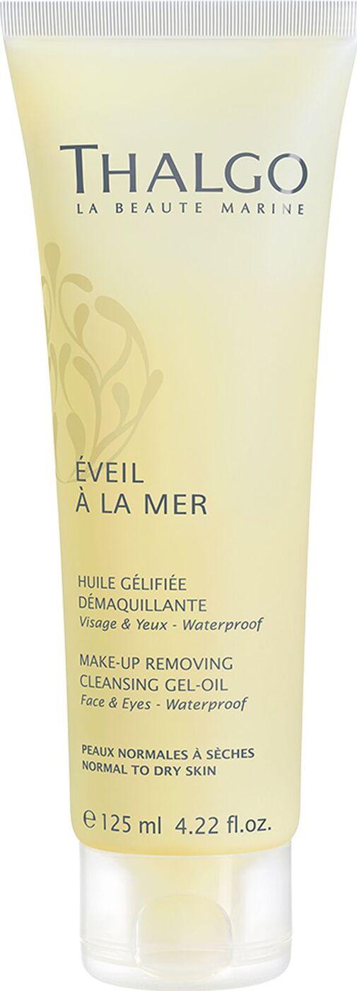 Очищающее гель-масло Thalgo Cosmetic, для снятия макияжа, с трансформирующейся текстурой, 125 мл Thalgo