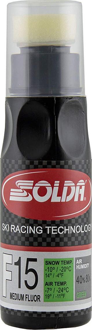 Жидкий парафин со средним содержанием фтора Solda F15, 0015GL, зеленый, 90 мл