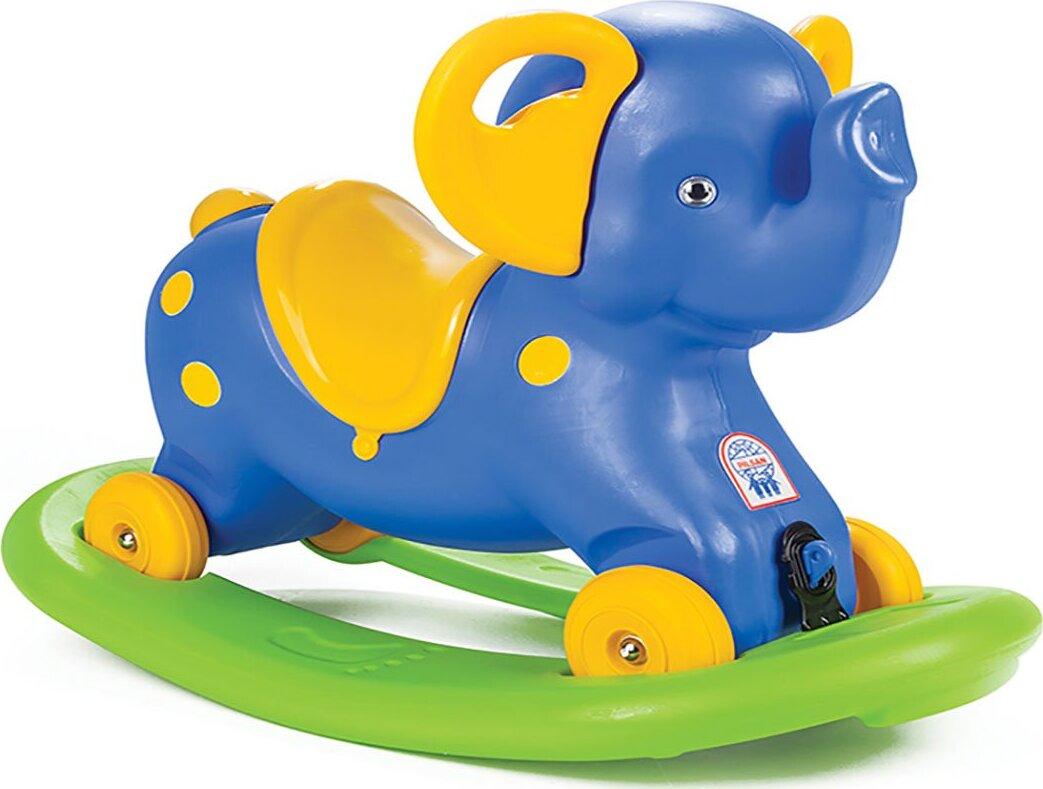 Качалка-каталка слоник с блокировкой Pilsan Rocking Elephan pilsan каталка crazy car