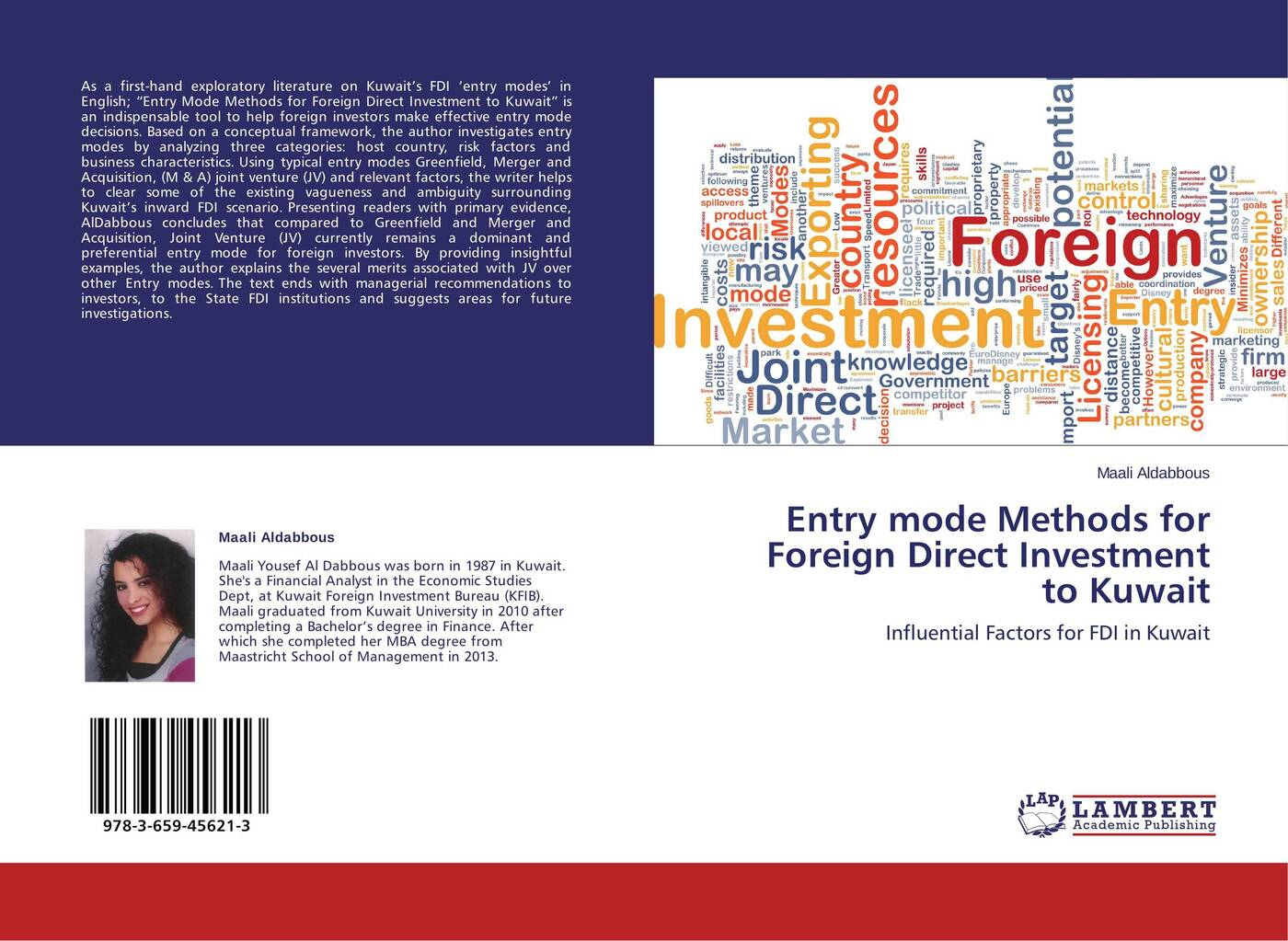 Maali Aldabbous Entry mode Methods for Foreign Direct Investment to Kuwait door entry systems