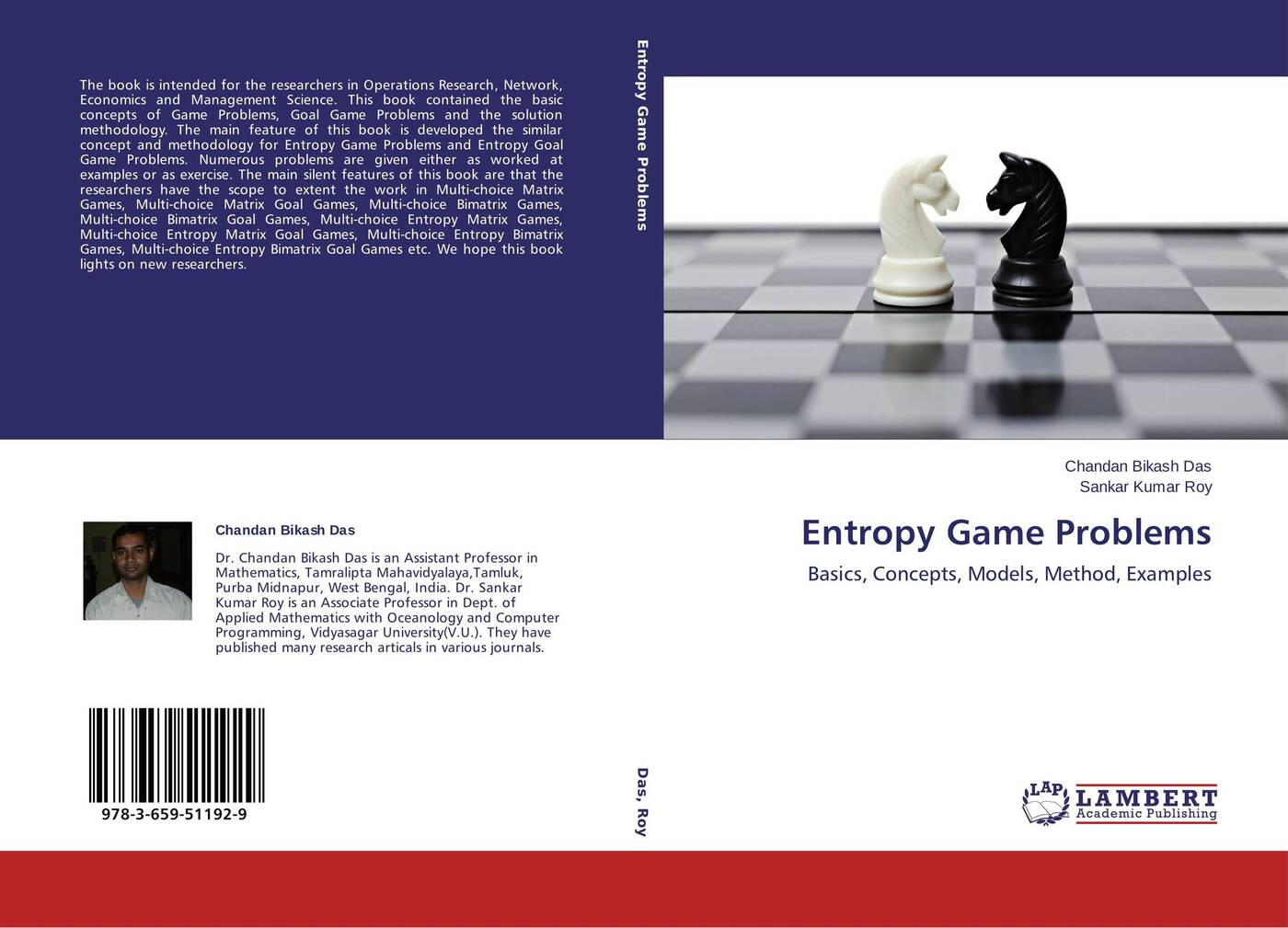Chandan Bikash Das and Sankar Kumar Roy Entropy Game Problems the penguin problems book notebook