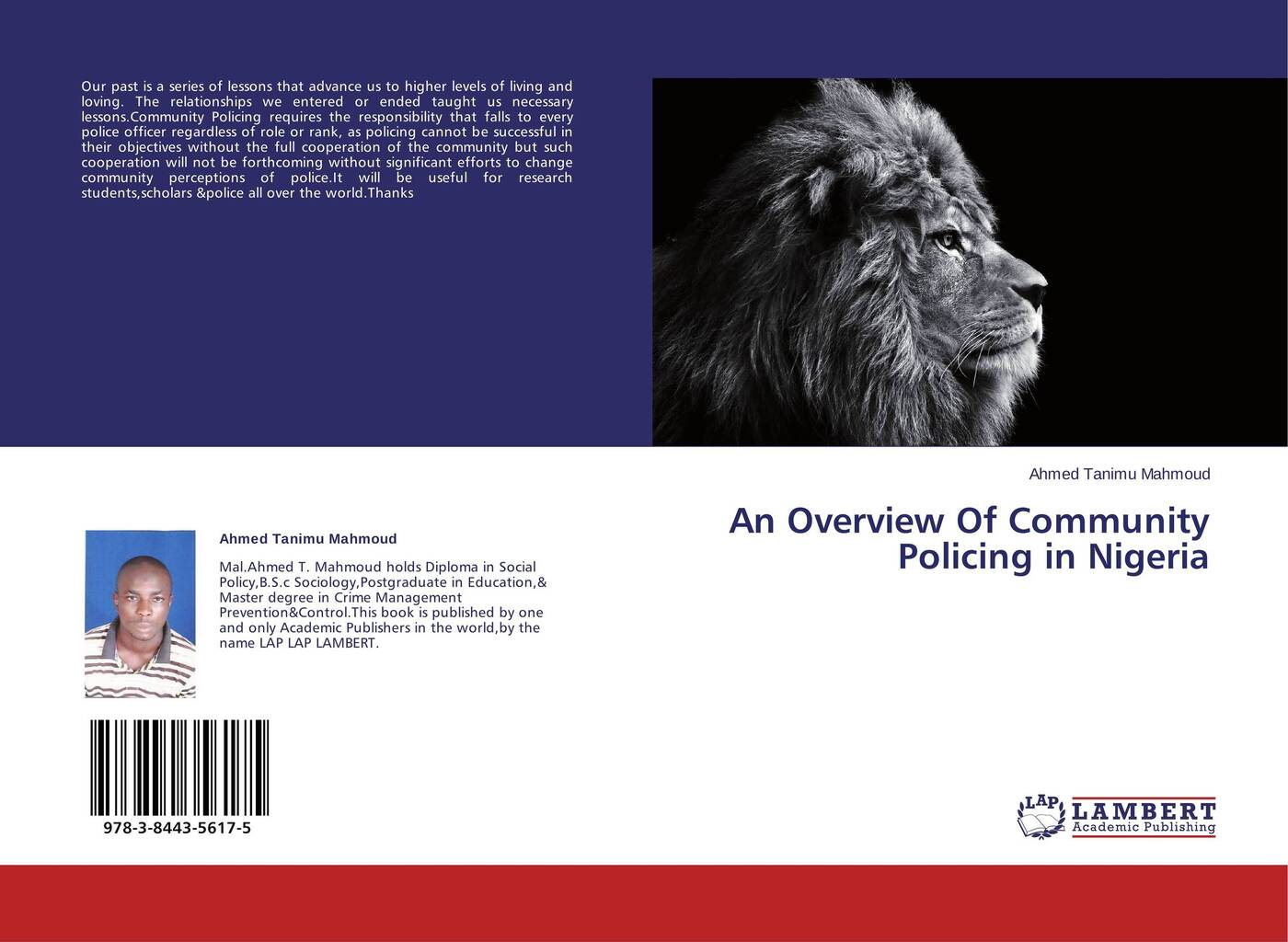 Ahmed Tanimu Mahmoud An Overview Of Community Policing in Nigeria mahmoud ali ahmed multi tragedies novel