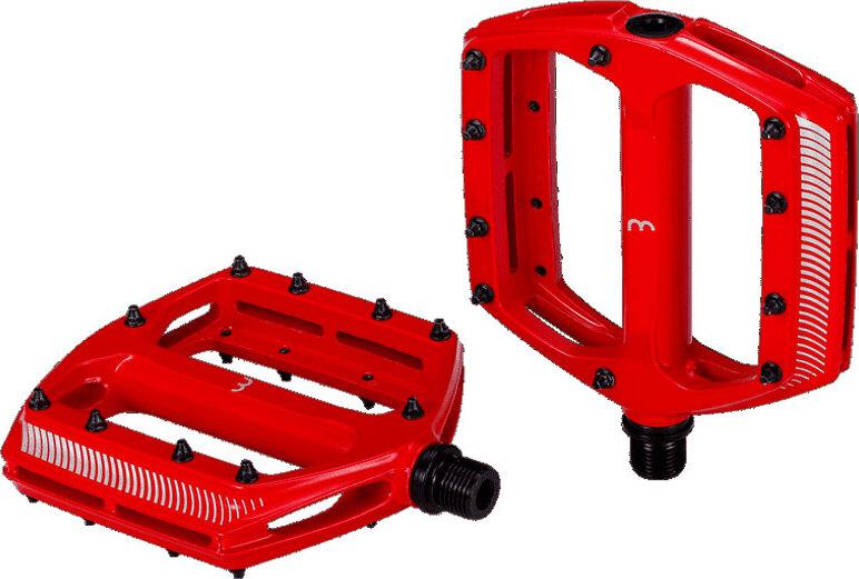 Педали BBB CoolRide MTB, цвет: красный, 2 шт