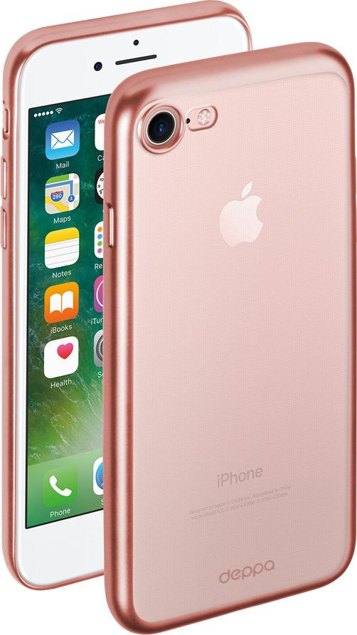Чехол Gel Plus Case матовый для Apple iPhone 7/8, розовое золото, Deppa все цены