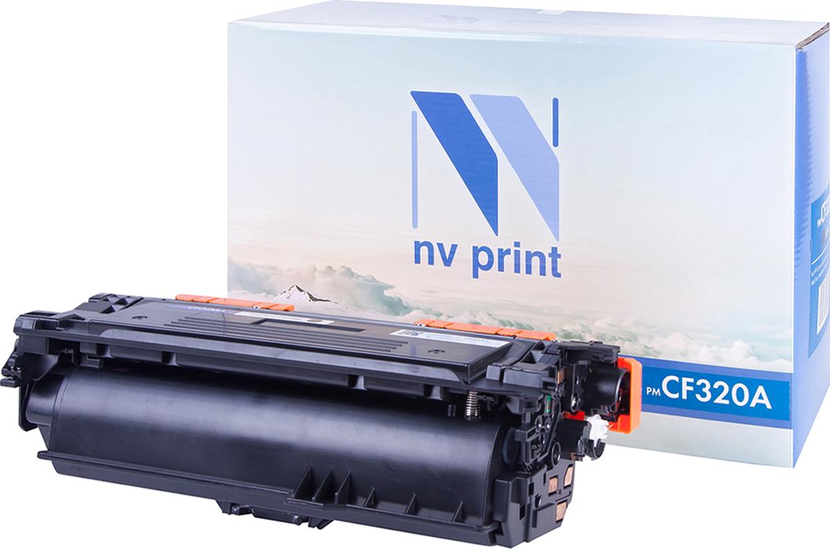 Тонер-картридж NV Print CF320A, черный, для лазерного принтера