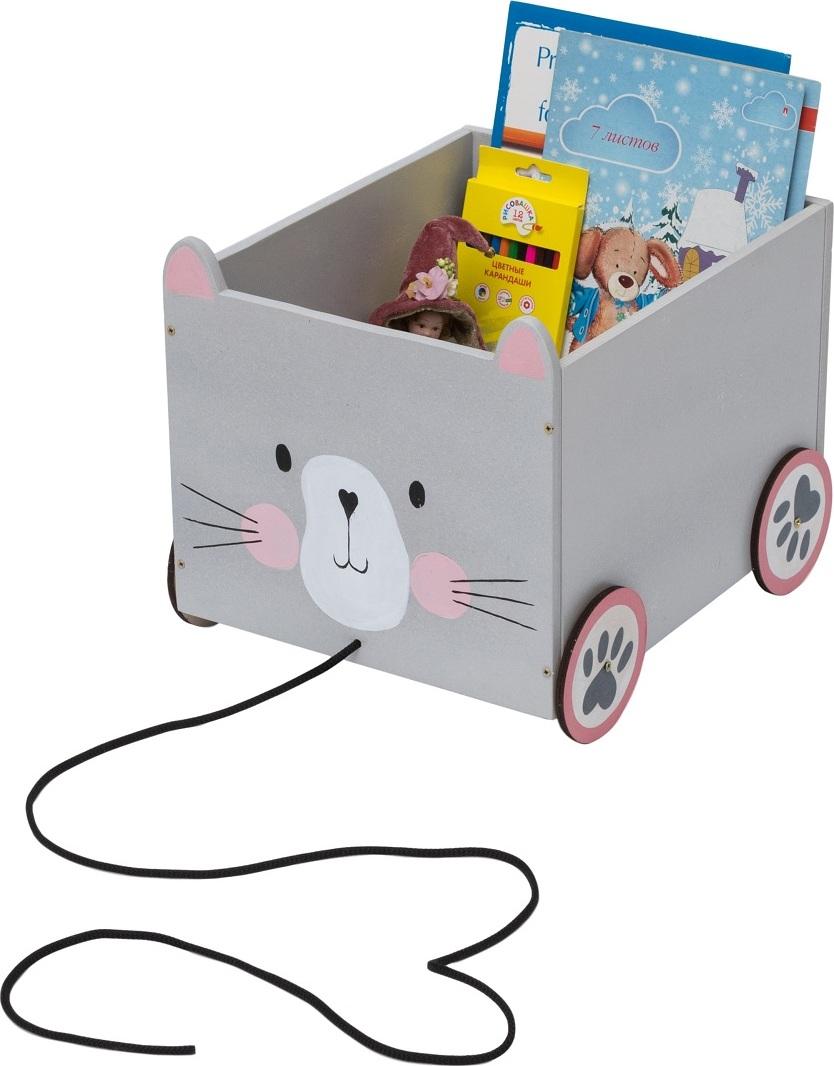 Ящик для книг и игрушек Кошка