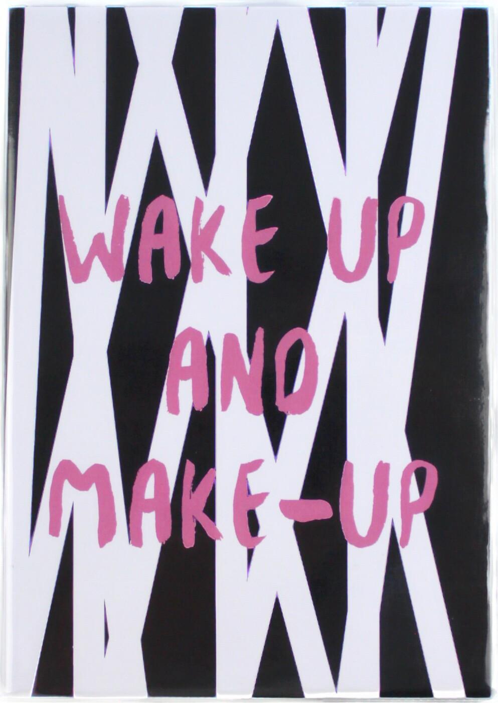 Планер большой Студия Dreams Wake up and Make up