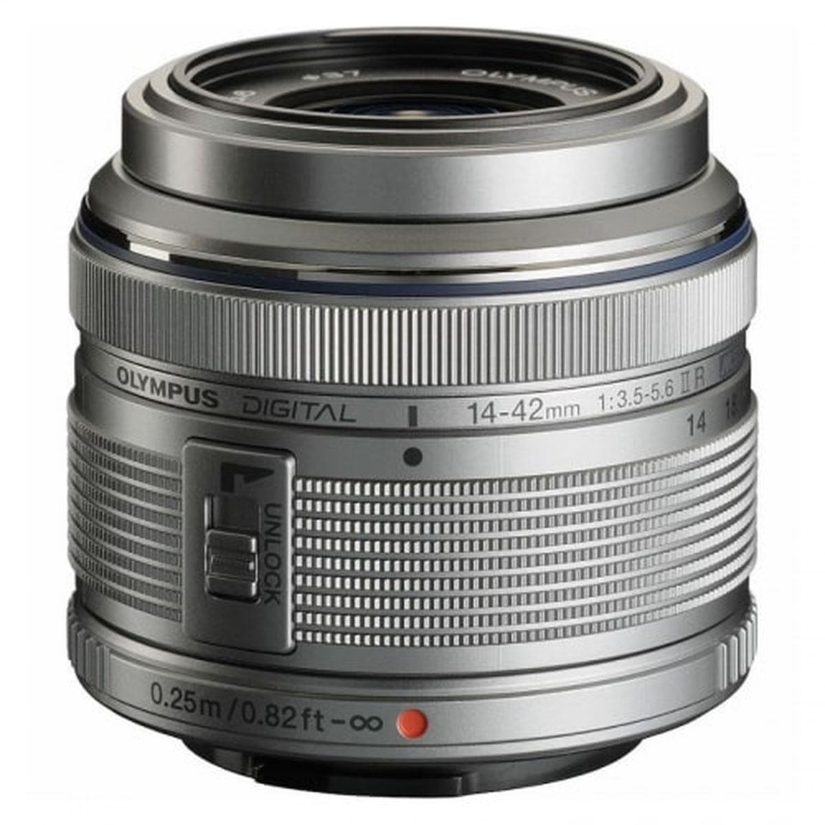 Объектив Olympus M.Zuiko Digital ED 14-42mm F3.5-5.6 II R, серебристый