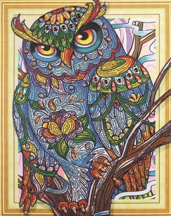 Набор для создания картины со стразами Paintboy 40х50 см 3D эффет LP025 Paintboy