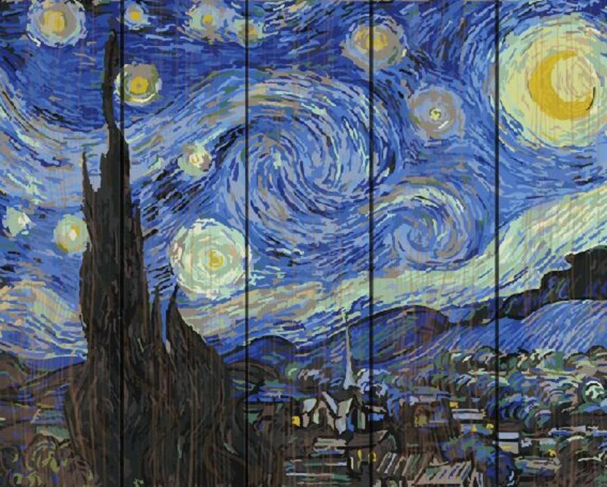 Картина по номерам Paintboy 40х50 см Звездная ночь (Ван ...