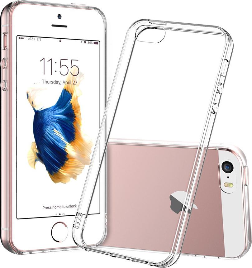 Силиконовый чехол для Apple iPhone 5/ 5S/ SE
