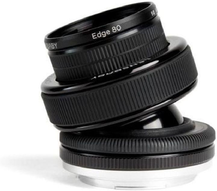Объектив Lensbaby Composer Pro With Edge 80 для Canon, черный