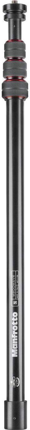 MBOOMAVR колонна VR алюм. 4/200/61/0,52/1,5 (сек/выс/слож/вес/нагр) черная