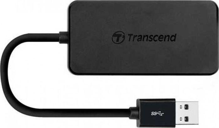 Считыватель карты памяти Transcend TS-HUB2K, черный