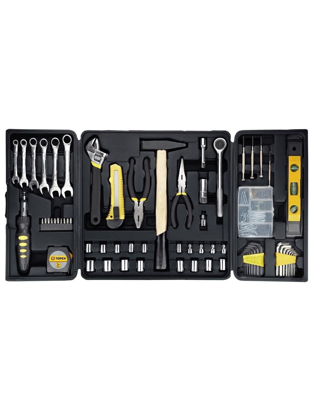 Набор инструментов (135 предметов) Topex 38D215