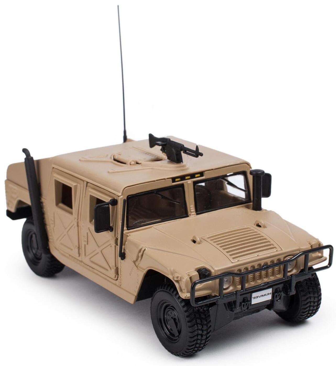 """Maisto """"Машинка бежевая - Humvee 1:24"""""""