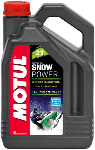 Масло моторное Motul Snowpower 2T 4л (105888)