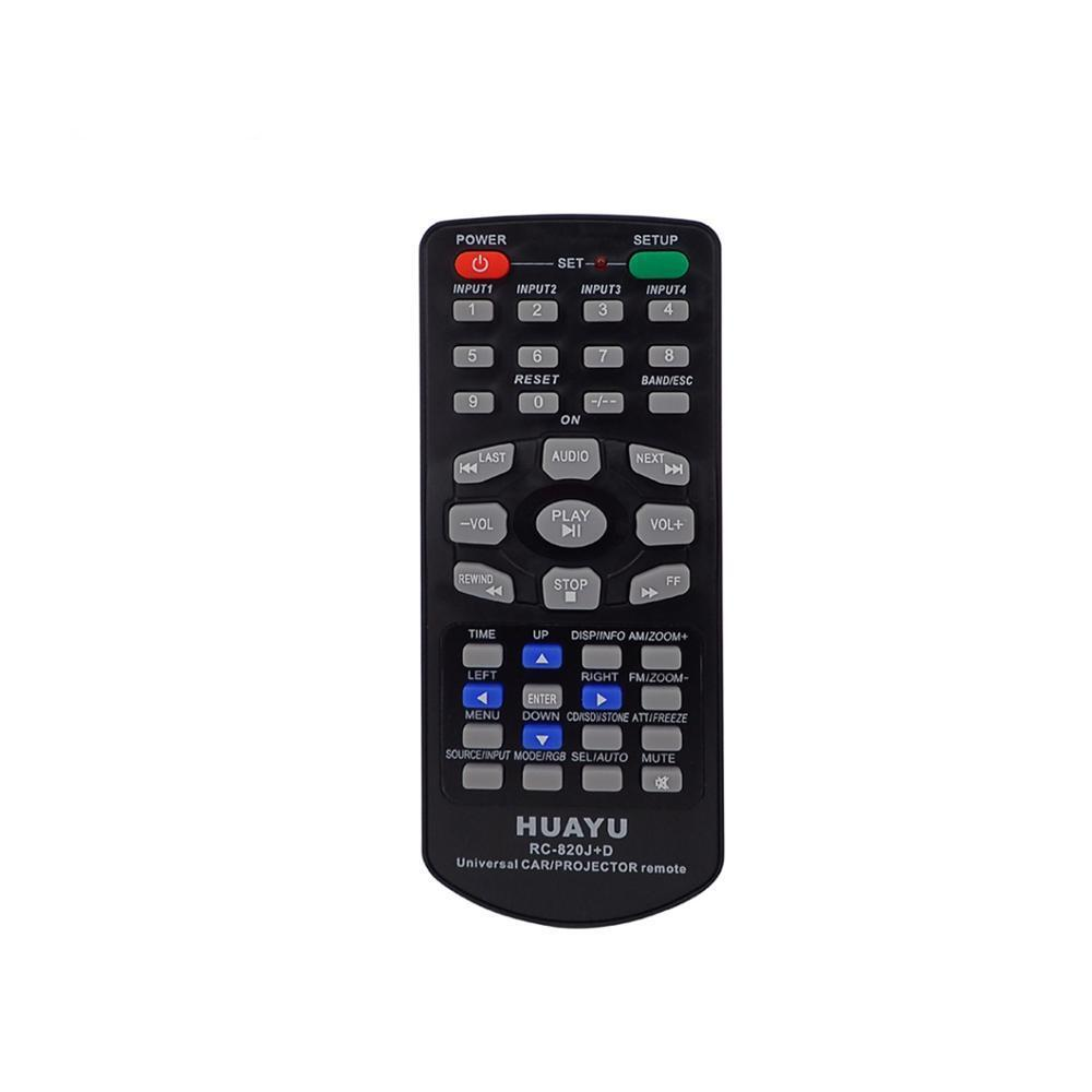 Пульт универсальный Huayu CAR RC-820J+ C/D Ver.2017 для автомагнитол, тв, dvd, projector