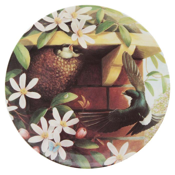 """Барбара Митчелл  """"Доставка на дом"""", декоративная тарелка. Фарфор, деколь. Coalport, Великобритания, конец ХХ века"""