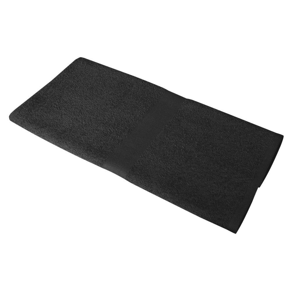 Полотенце махровое Soft Me Medium, черное