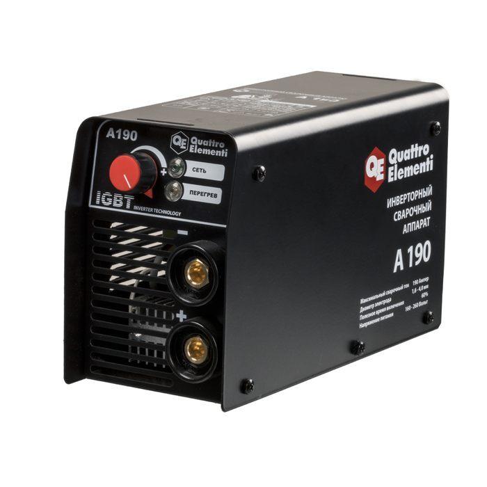 Аппарат электродной сварки, инвертор quattro elementi a 160