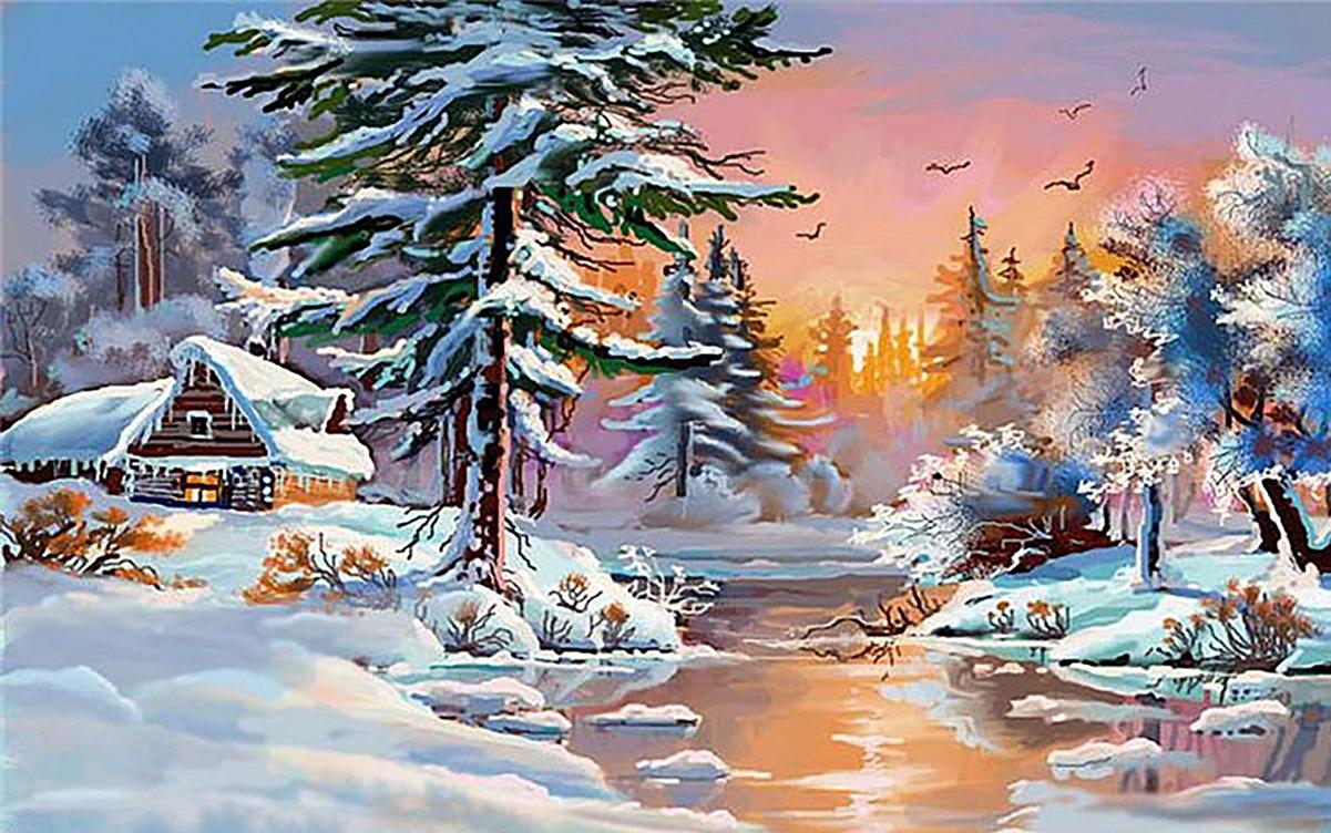 Все что связано с зимой картинки