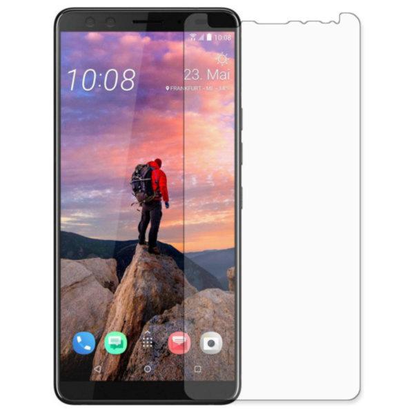 3D защитная пленка MyPads с закругленными краями которое полностью закрывает экран для телефона HTC Desire 12 Plus глянцевая