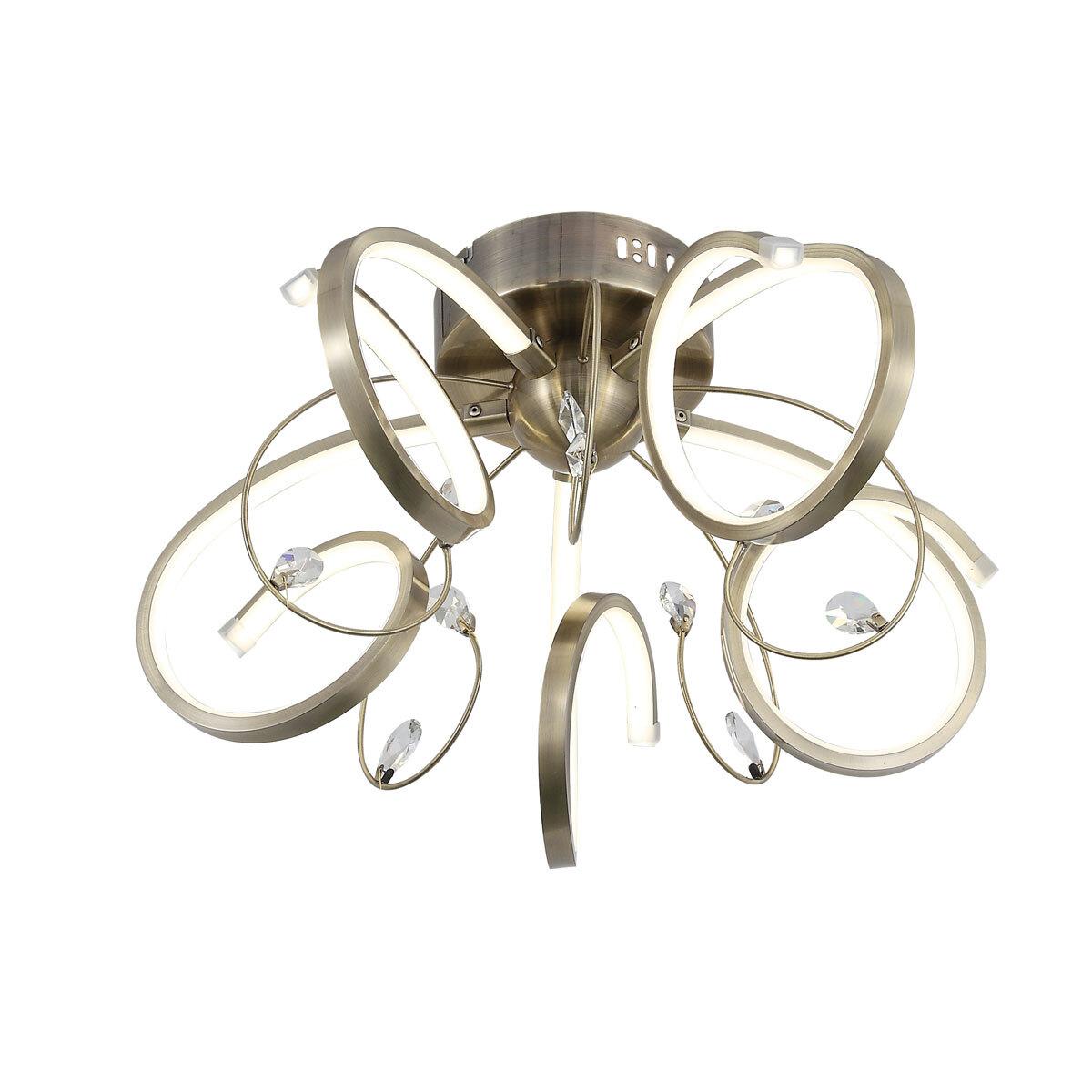Потолочный светильник ST Luce MIELENO SL399.302.05, LED, 70 Вт