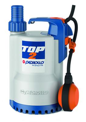 Дренажный насос для чистой воды PEDROLLO TOP 4 NEW кабель 10м 48TOP142A1U