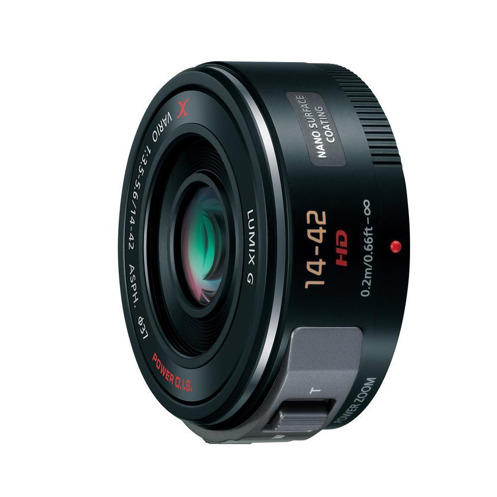 Lumix Panasonic standard zoom lens Micro Four Thirds G X VARIO PZ 14-42mm / F3.5-5.6 ASPH./POWER O.