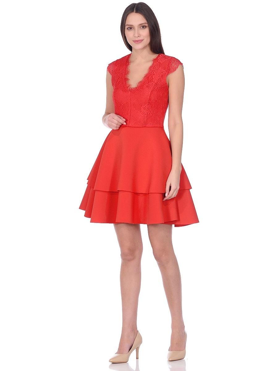 Озон Платье Красное