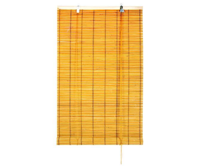 Штора рулонная 60Х160 см, цвет оранжевый-20715