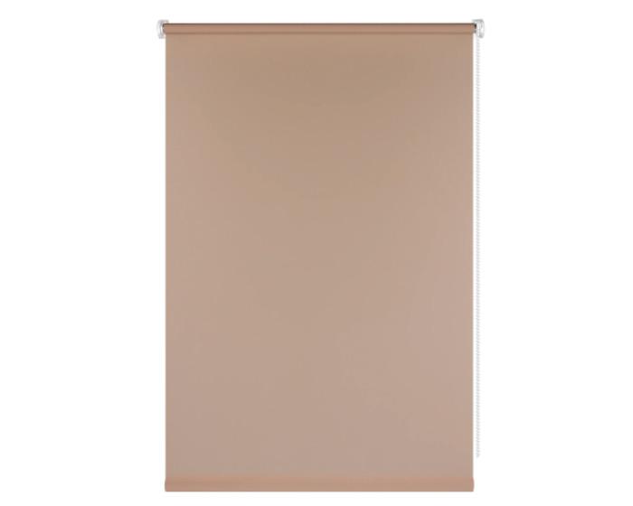 Штора рулонная, 70x160 см, цвет коричневый-20491