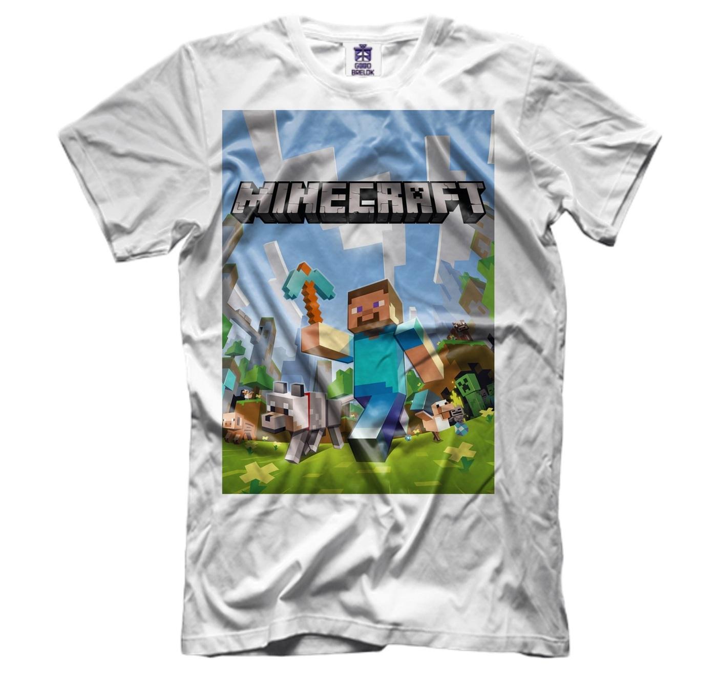 озон футболки с майнкрафт #1