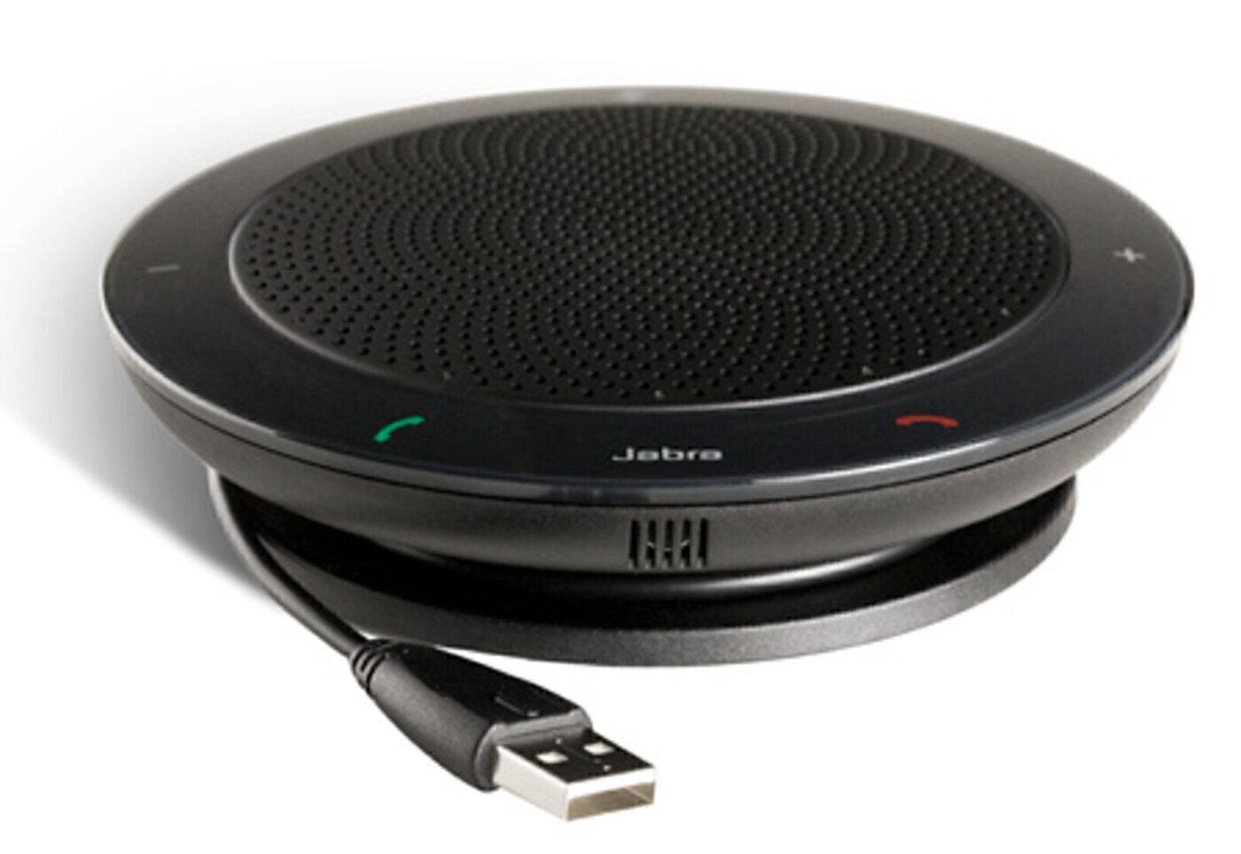 устройство громкой связи jabra speak 410, черный