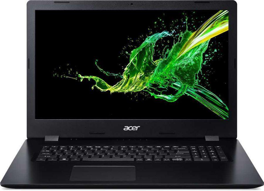 """17.3"""" ноутбук acer aspire 3 a315-57g-375y, intel core i7-1065g7 (1.3 ггц), ram 8 гб, ssd 512 гб, intel iris plus graphics, без системы, (nx.hzwer.009), черный"""