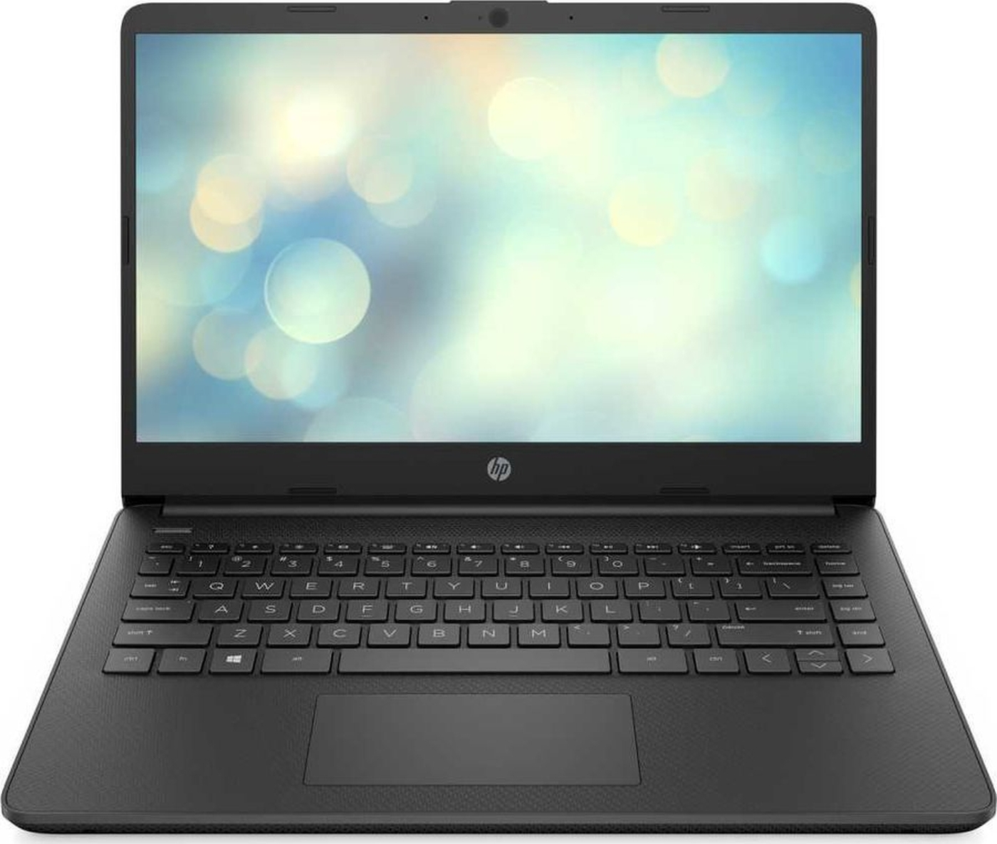 """14"""" ноутбук hp laptop 14s-fq0090ur, amd athlon silver 3050u (2.3 ггц), ram8 гб, ssd 256 гб amd radeon radeon vega 2, без системы, (3b3m4ea), черный"""