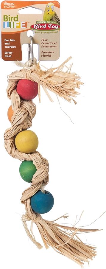"игрушка для птиц penn-plax ""подвеска с шариками"", 27,5 см"