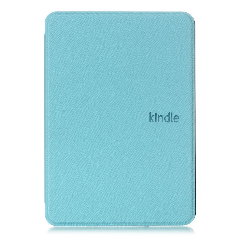 обложка для amazon kindle paperwhite 2018, голубая