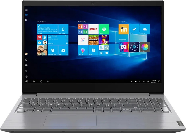 """15.6"""" ноутбук lenovo v15 g1 iml, intel core i3-10110u (2.1 ггц), ram 4 гб, ssd 256 гб, intel uhd graphics, без системы, (82nb001aru)"""