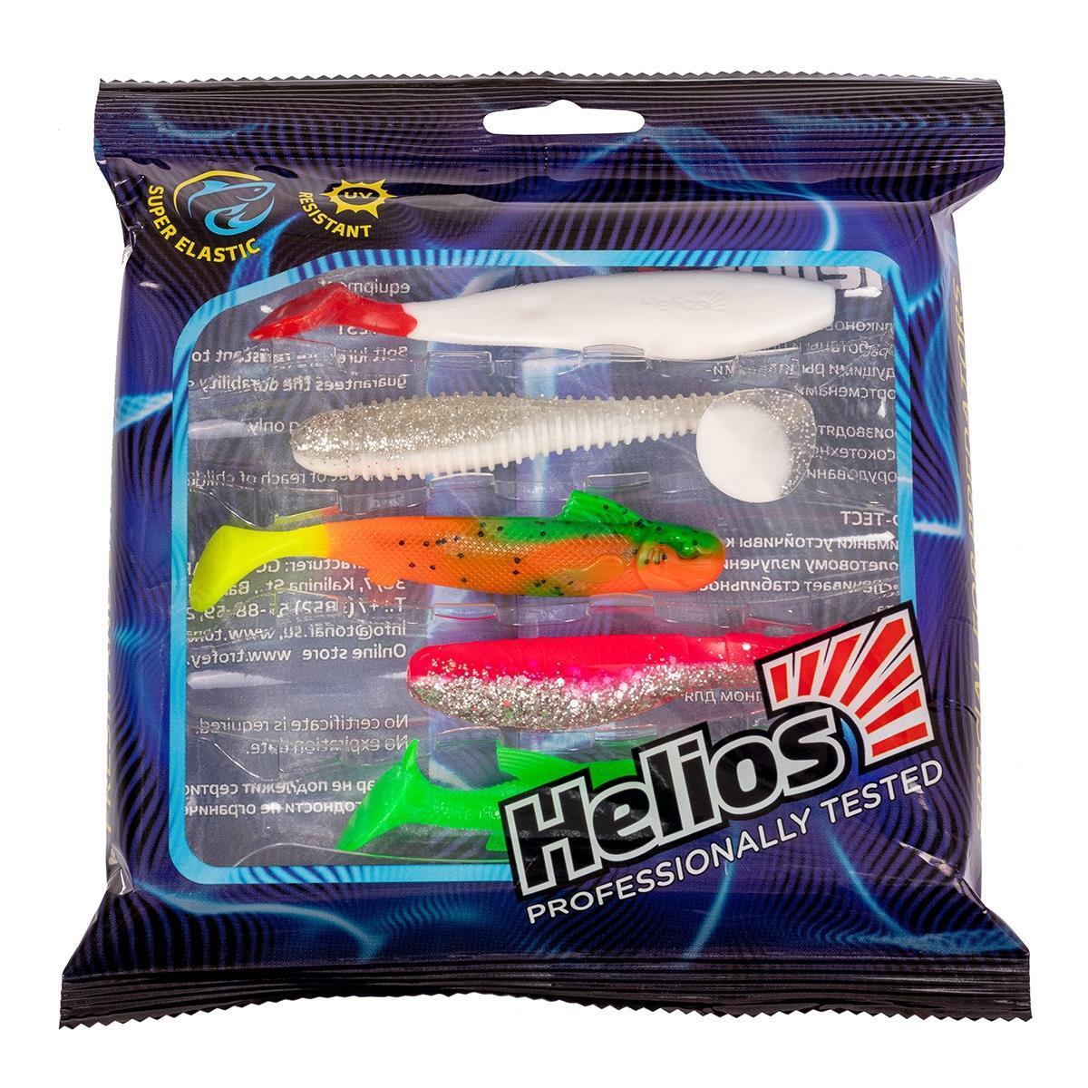 Набор приманок для ловли на джиг 5шт/упак SET#1 (HS-PJ-SET1) Helios