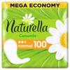 Женские ароматизированные ежедневные прокладки NATURELLA Normal (с ароматом ромашки), 100 шт. - изображение
