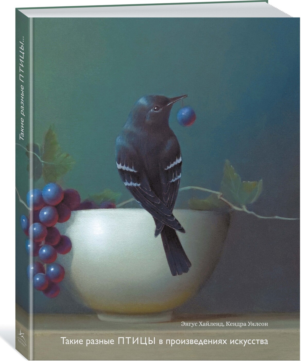 Такие разные ПТИЦЫ в произведениях искусства | Хайленд Энгус, Уилсон Кендра  #1