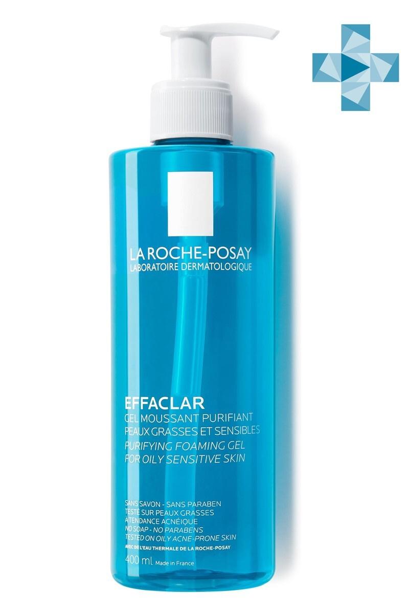 La Roche-Posay Effaclar очищающий пенящийся гель для жирной кожи, склонной к акне, 400 мл  #1